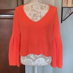 NWT Free People Damsel knit pullover sweater XS